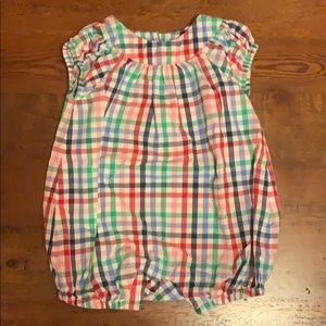 Baby Gap Plaid Bubble 3/$20